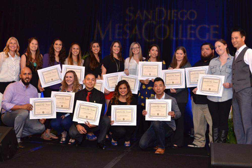 "San Diego, CA. – Today, San Diego Mesa College announced the 2017 scholarship winners who will be awarded in excess of $160,000 in scholarships at the Mesa College 24th Annual Scholarship Awards Ceremony on Friday, April 28th at 5:30pm at the Doubletree Hotel in Mission Valley. Scholarship winners and donors, will ""walk the blue carpet"" at this stunning event, and be recognized for their donations and achievements."
