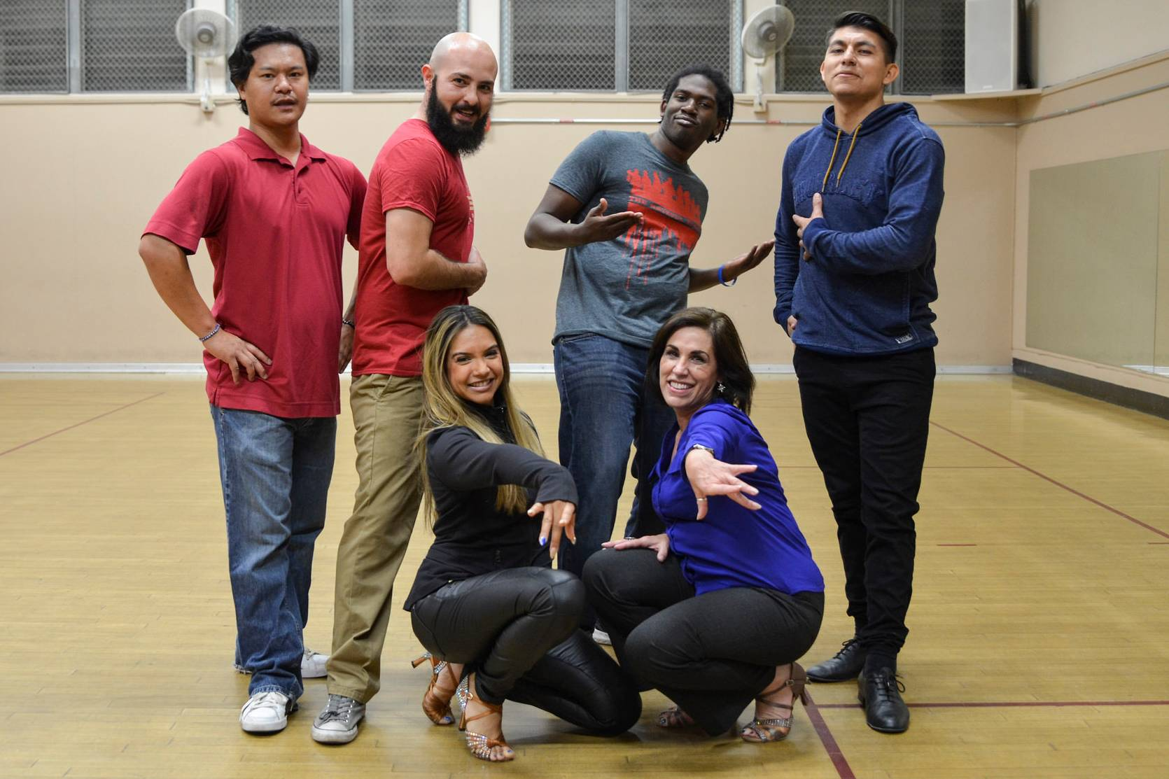 Student Veteran at San Diego Mesa College have been finding a new sense of community on campus this semester through free social dancing classes on campus.