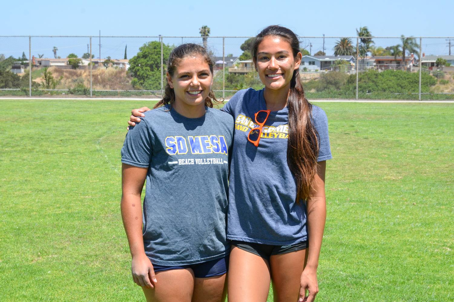 Mesa Women's Beach Volleyball Pair Takes Third in CCCAA Championship
