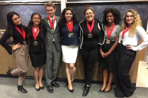 speech and debate team