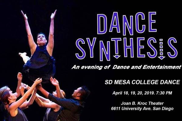 Mesa Dance Presents Student Choreographed Dance Synthesis at the Joan B. Kroc Theatre