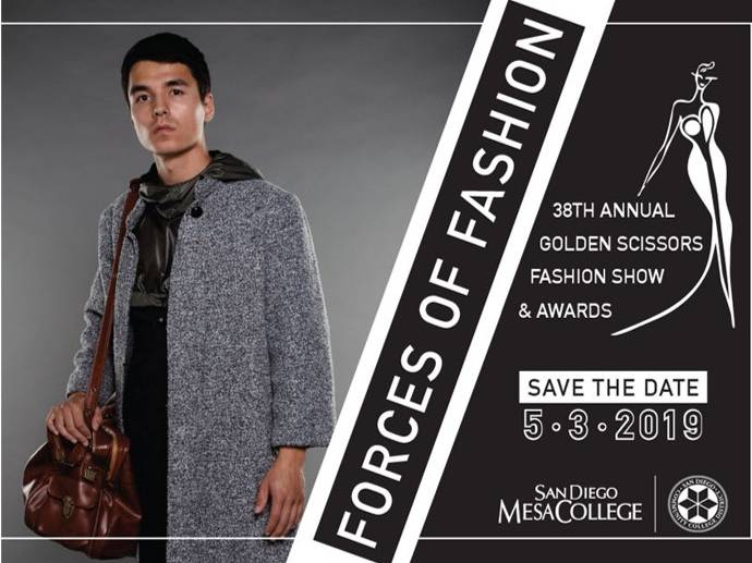 Mesa College Fashion Program to Feature Forces of Fashion at 38th Annual Golden Scissors Fashion Show