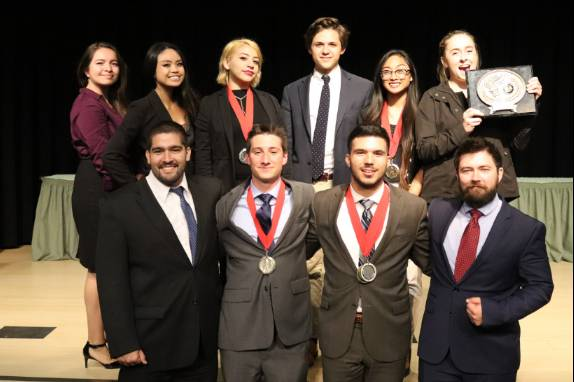 A Strong Finish to 2018 Bolsters Mesa´s Speech and Debate Team