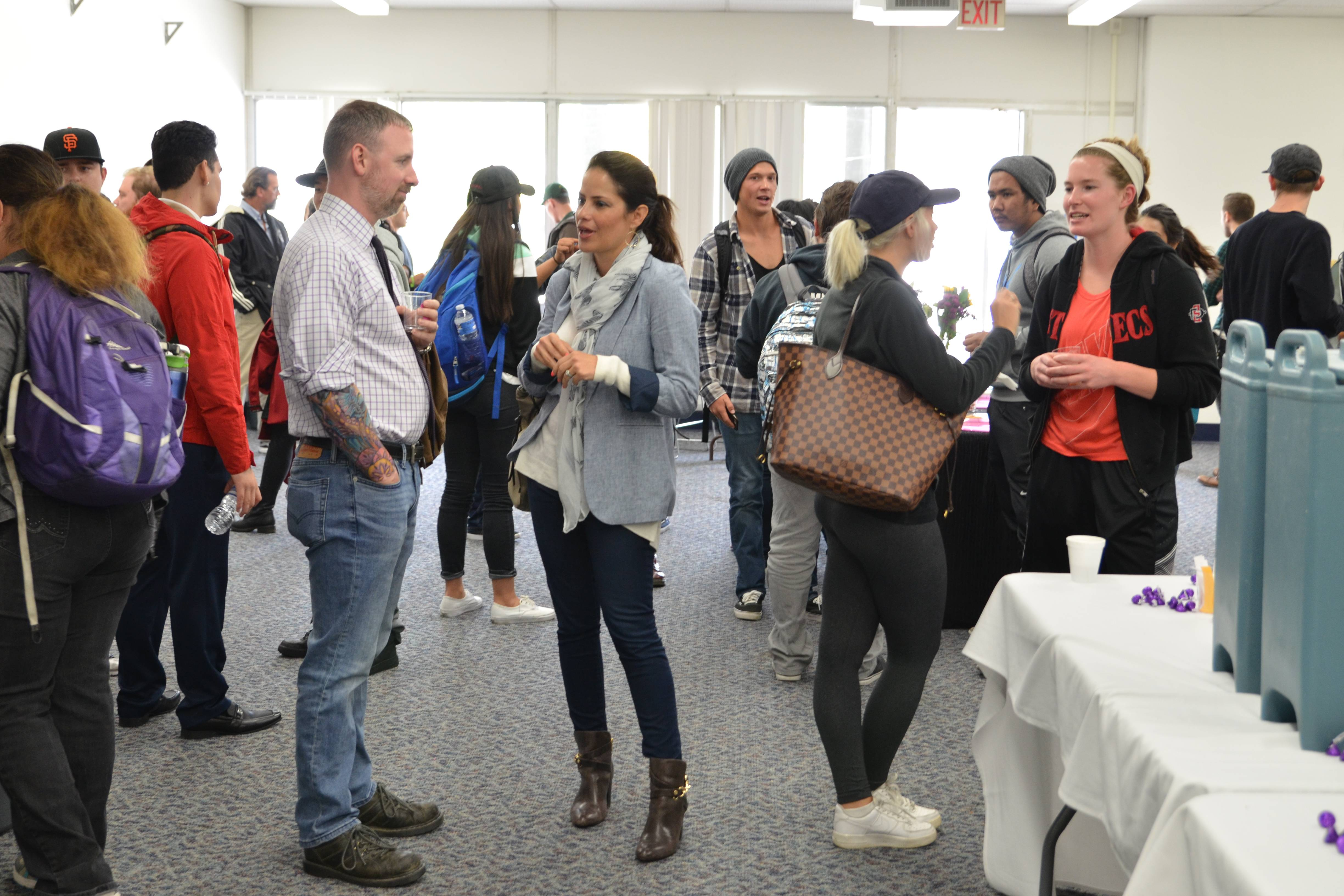 San Diego Mesa College's Communication Studies Department invites students, faculty and staff to mingle during this semester's Common Grounds event at MC 211 A/B on Thursday, Nov. 3 from 12:30 to 1:30 p.m.