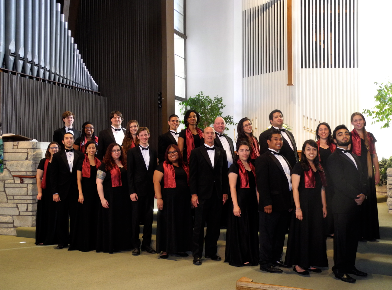 San Diego Mesa College's Vocal Ensemble represented the college and the United States at the 17th Annual International Choir Ensemble Festival in Puebla, Mexico.