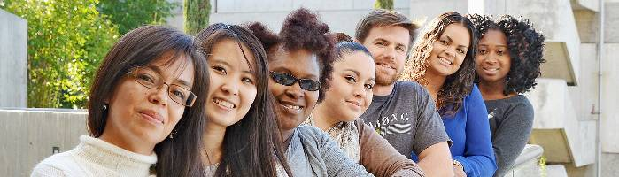 diverse mesa college students