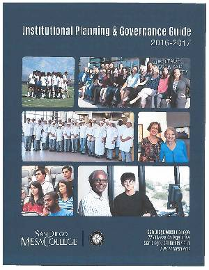 2016-2017 Institutional Planning & Governance Guide