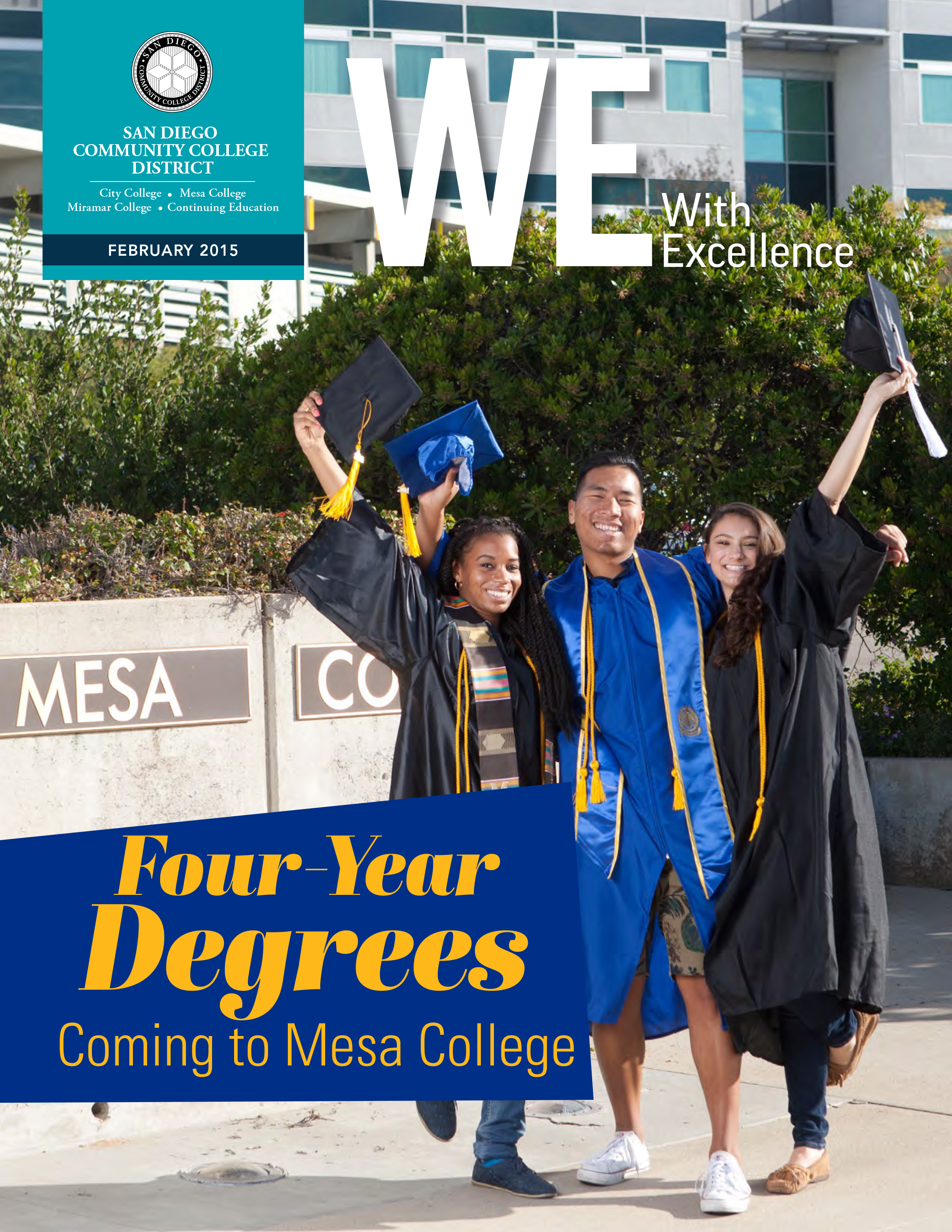 san diego community college district WE magazine