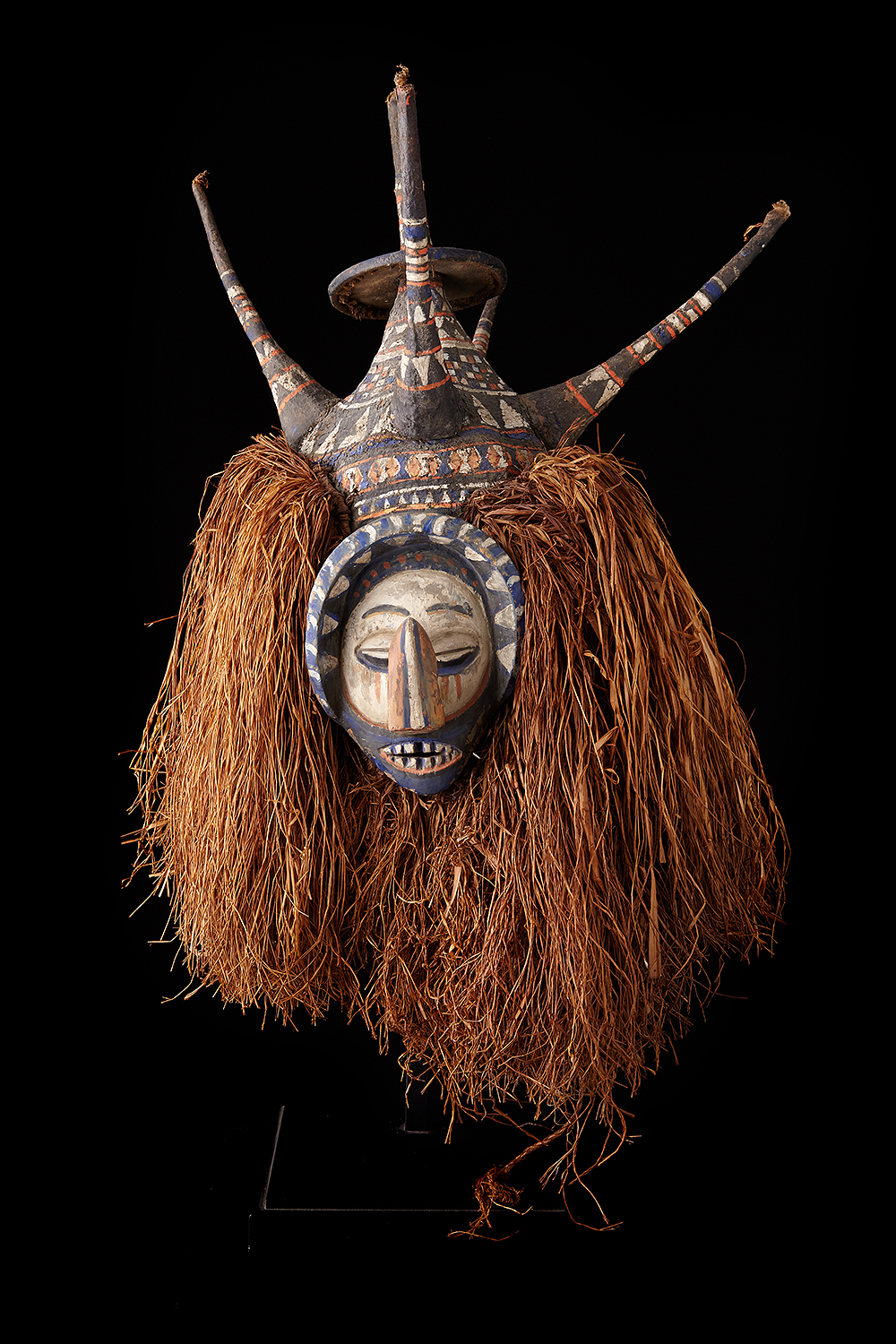 Ndema Initiation Mask