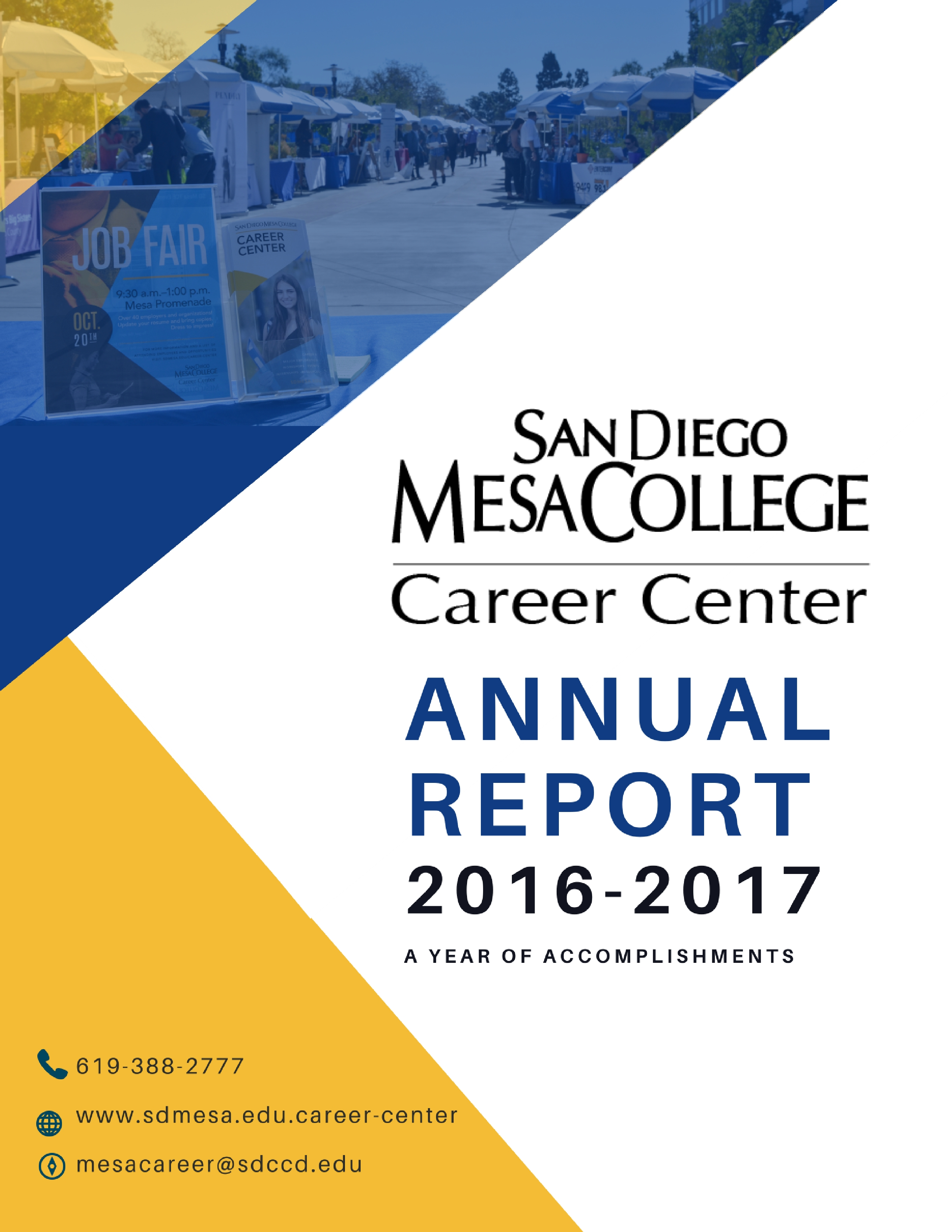 Career Center Annual Report